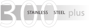 Atramat 300 Stainless Steel Plus Logo